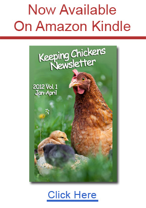 keeping chickens newsletter on Amazon kindle